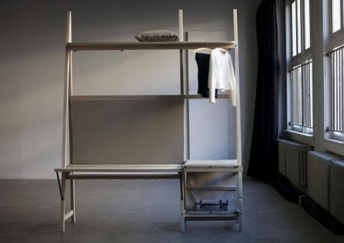 Компактная мебель для крошечных квартир.