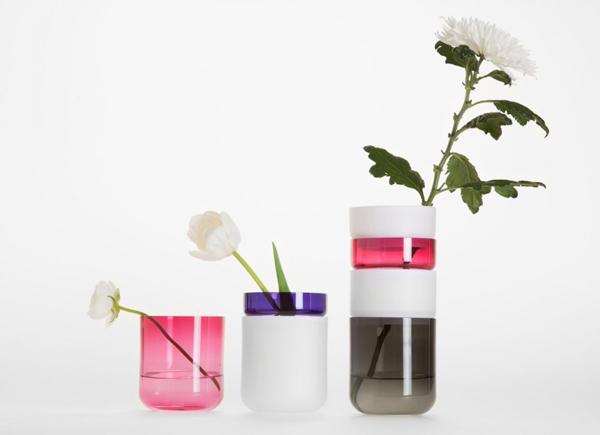 Необычные цветочные вазы.