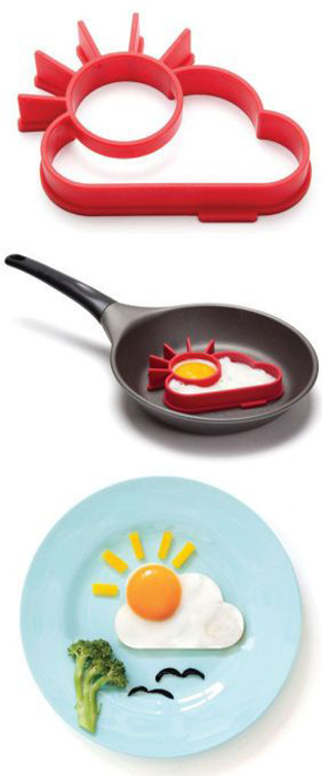 Креативные формы для жарки яиц.