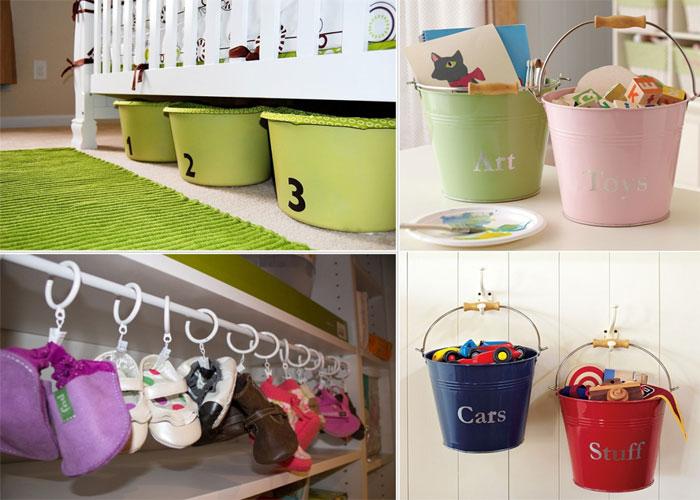 10 способов навести порядок в детской комнате.