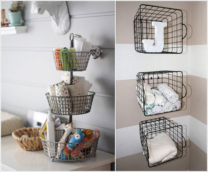 Кухонные корзинки для мелочей.