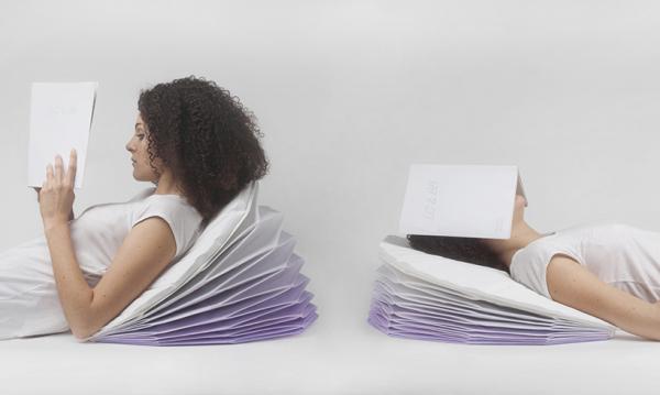 Подушка от Bina Baitel Studio.