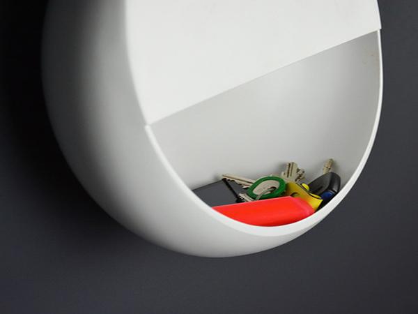 Светильник, объединенный с системой хранения.