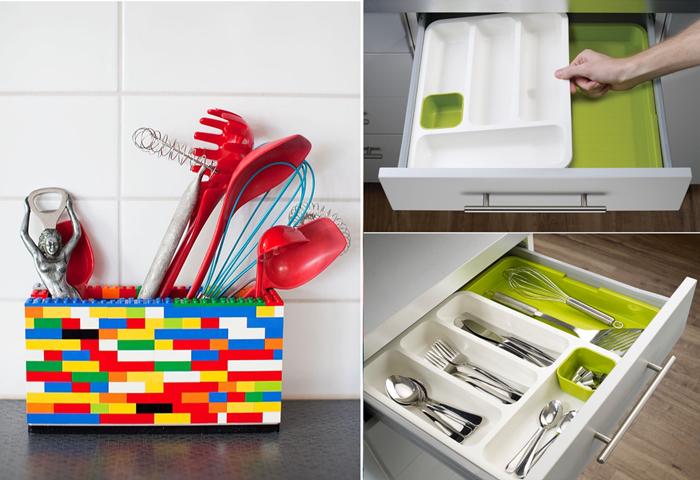 10 идей для организации хранения на кухне.