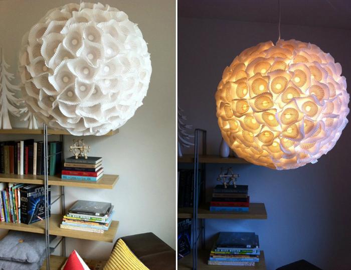 Дизайн светильник своими руками