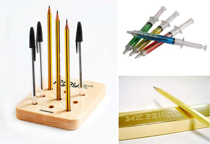 10 необычных ручек и карандашей.