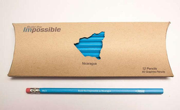 Благотворительные карандаши.