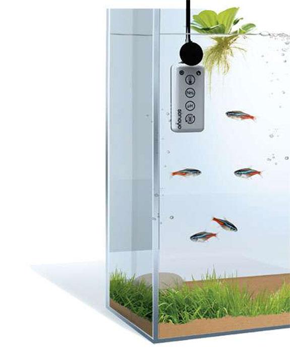 Умный датчик для аквариума с рыбками.