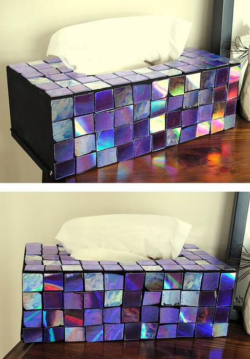 Необычная коробочка для салфеток.