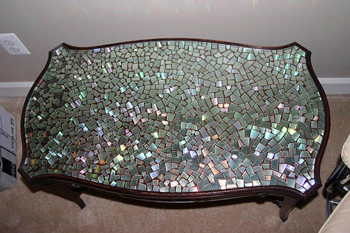 Мозаика для журнального столика.
