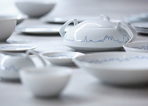 Минималистская посуда от Rosenthal.