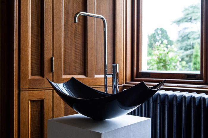 Дизайн ванны черная
