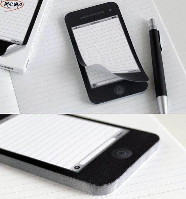 Стикеры в виде смартфона.