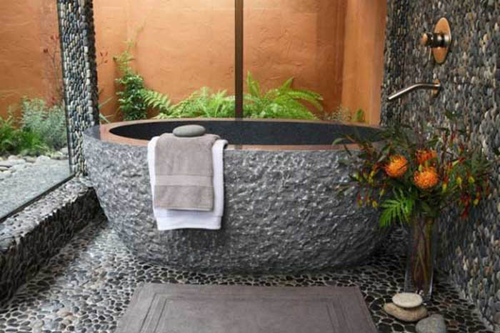 Japanese soaking tubs for small bathrooms