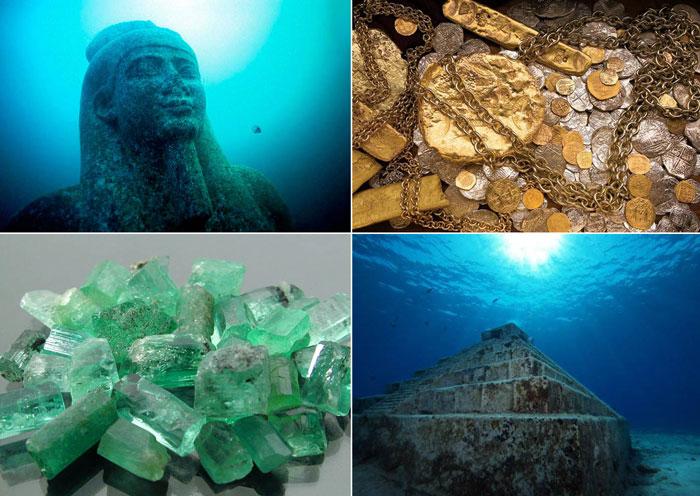 7 необычных вещей, найденных на дне океана.