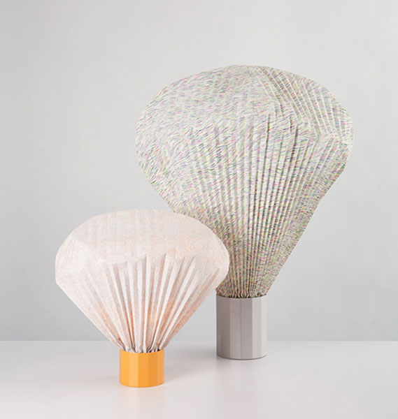Оригинальные светильники от Inga Sempé.
