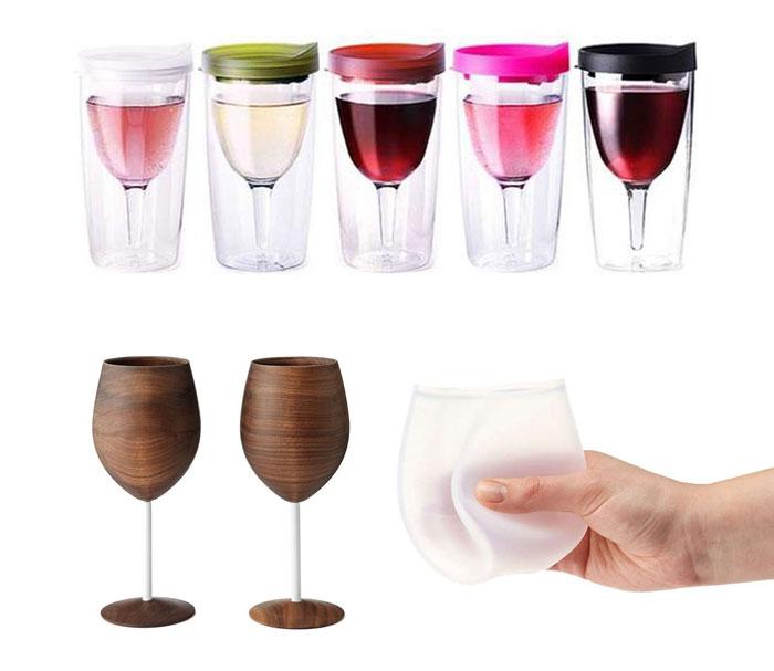 10 потрясающих винных бокалов.