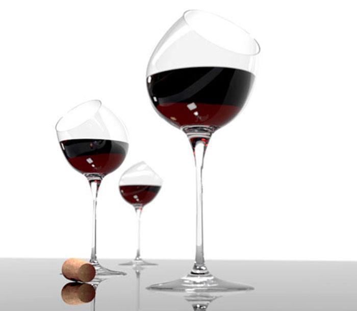 Бокалы, раскрывающие вкус вина.