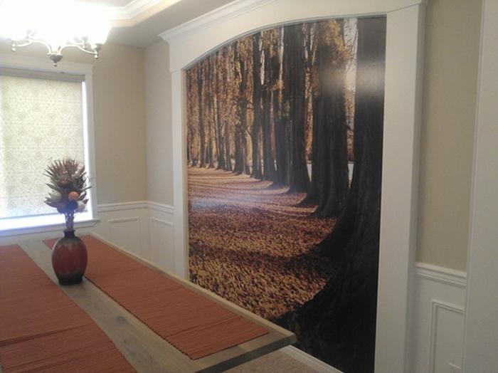 Пейзаж в гостиной.