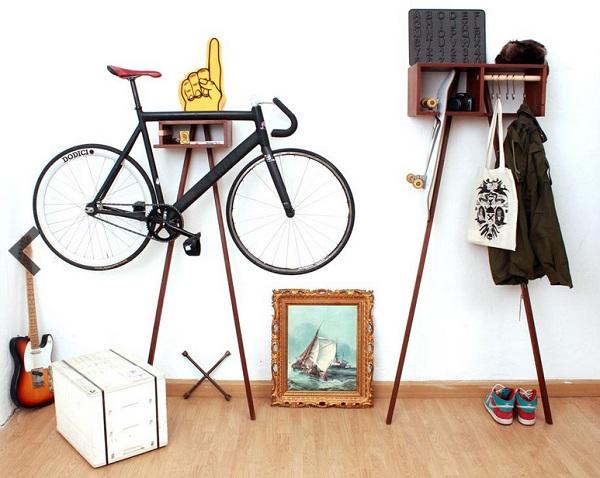 Предметы быта, созданные из велосипедов