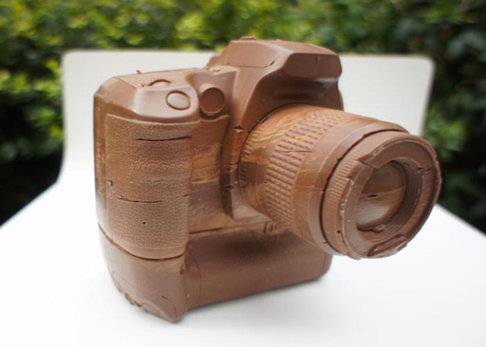 Шоколадный фотоаппарат Canon D60.