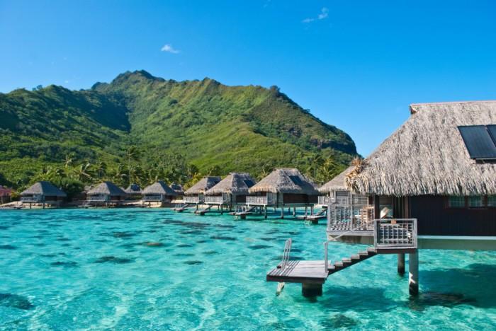 Moorea, Французская Полинезия.