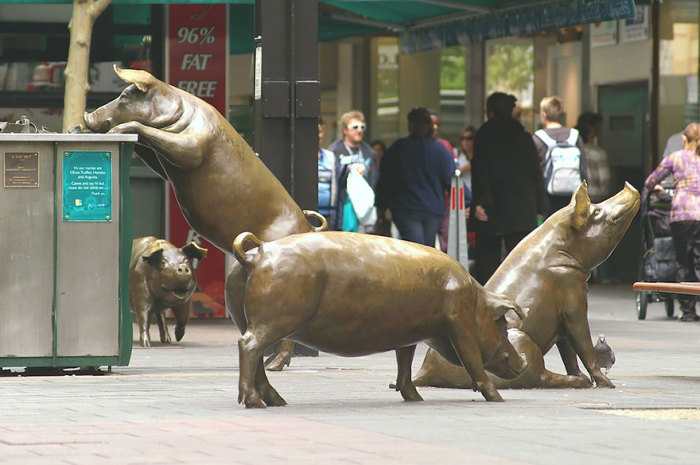 ������ Rundle Mall, ��������, ���������.