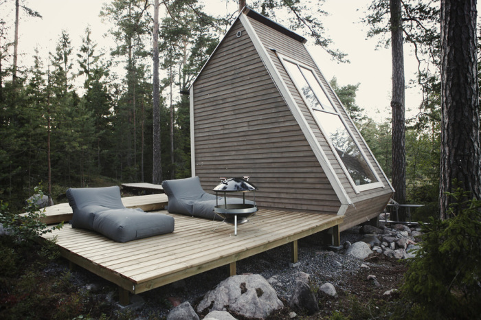 Дизайн небольшого дома Robin Falck.