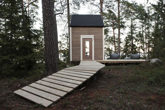 Nido - современный крошечный домик.