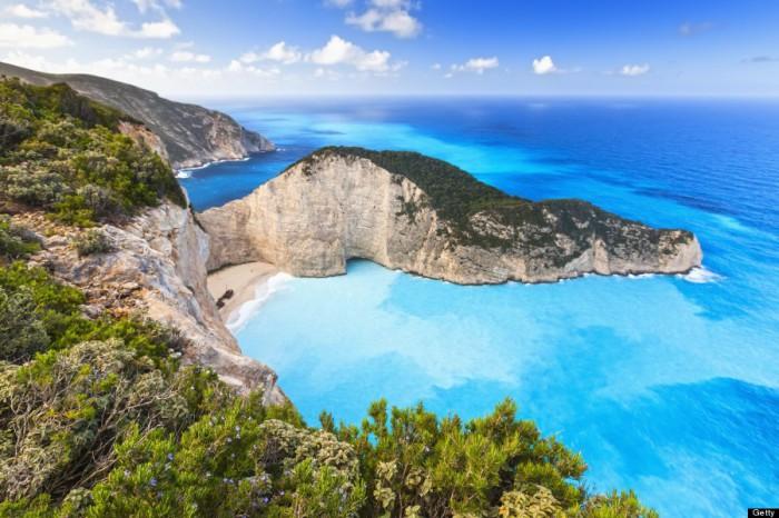 Navagio Bay, Греция.
