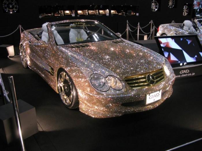 Бриллиантовый Mercedes.