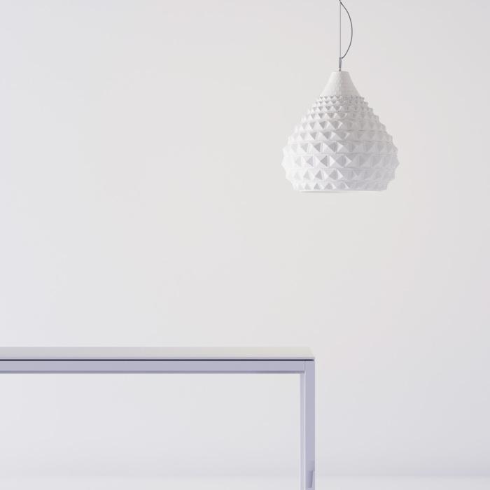 Потолочный светильник в форме купола.