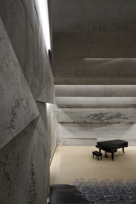 Концертный зал в Германии от Питера Хэмерла (Peter Haimerl).