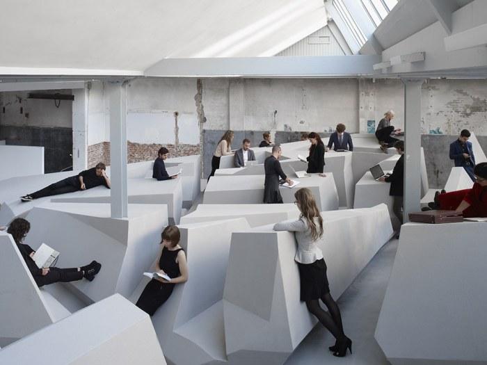 Новый концепт современного офиса от RAAAF.
