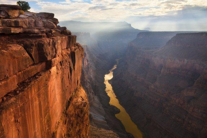 Национальный парк Гранд-Каньон в Аризоне.