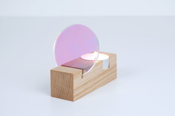 Простой и элегантный дизайн подсвечника от Thier&VanDaalen.