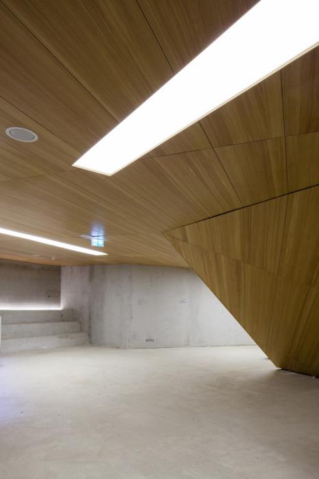 Холл подземного концертного зала Питера Хэмерла (Peter Haimerl).