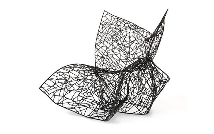 Необычное кресло от Fredrikson Stallard.