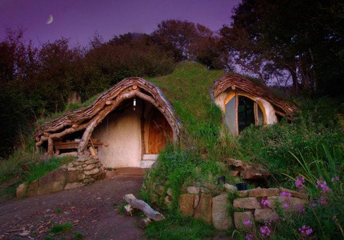 Дом Хоббита, Уэльс.