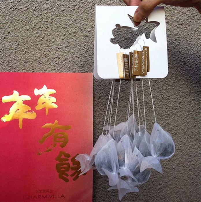 Очаровательные чайные пакетики от тайваньской компании.