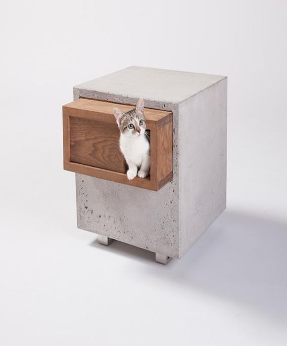 Оригинальный дизайн дома для кота от Standard Architecture.