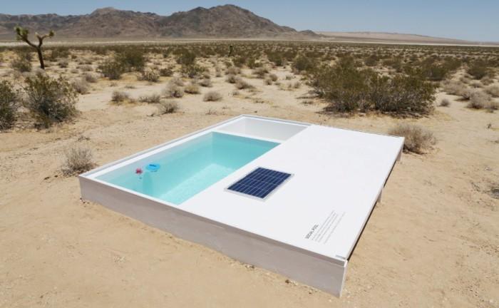 Социальный бассейн - проект художника Альфредо Барсулия  (Alfredo Barsuglia).
