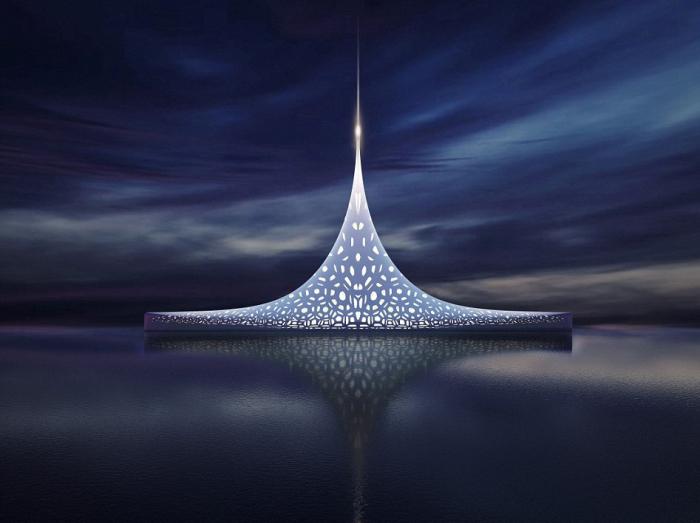 Проект самого необычного в мире судна.