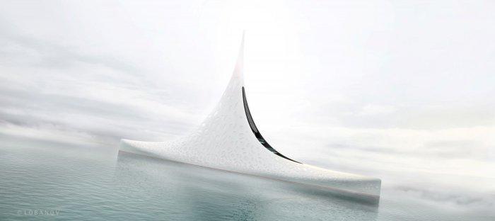 Необычный дизайн яхт от архитектора Игоря Лобанова.