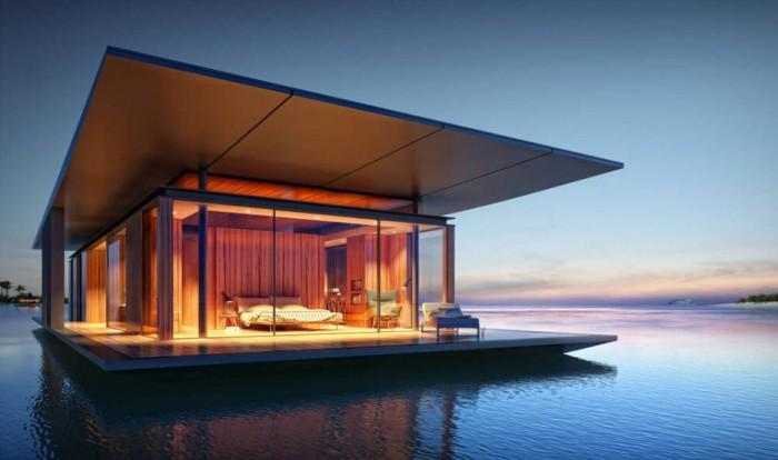 Дизайн плавающего дома от Dymitr Malxew.