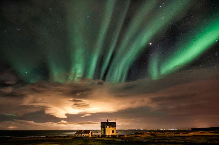 Holmur Reykjanes, Исландия.