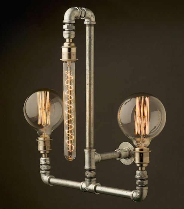 Оригинальный дизайн светильника от Edison Light Globes.