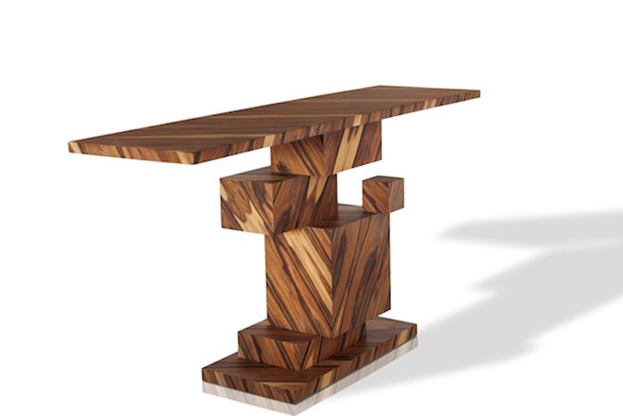 Оригинальный стол от дизайн-студии Amarist.