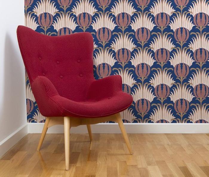 Стильные красочные обои от Mues Design.