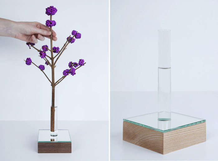 Необычная зеркальная ваза от Thier&VanDaalen.